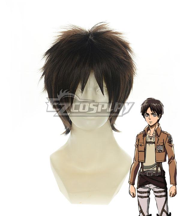 Attack on Titan Shingeki no Kyoji 104th Trainees Squad Survey Corps Eren Yeager Eren Yega Eren Jaeger Short Black Gair Cosplay Wig 320G