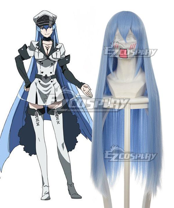 Akame ga KILL! Esdeath Blue Cosplay Wig 350A