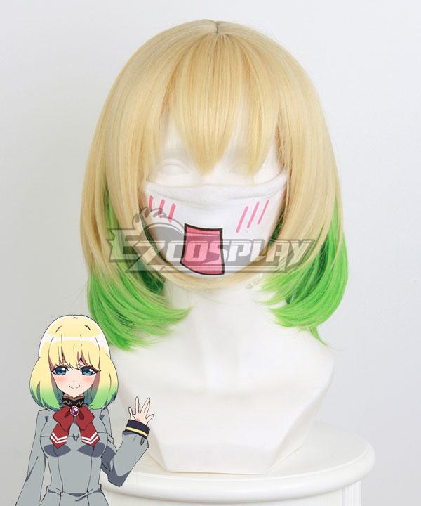Twin Star Exorcists Mayura Otomi Yellow Gradient Cosplay Wig 362C