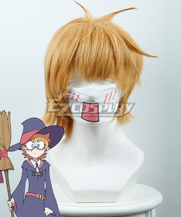 Little Witch Academia Lotte Yanson Yellow Cosplay Wig