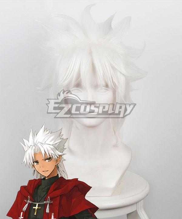 Fate Grand Order Fate Apocrypha Amakusa Shirou Tokisada Shirou Kotomine White Cosplay Wig 235I