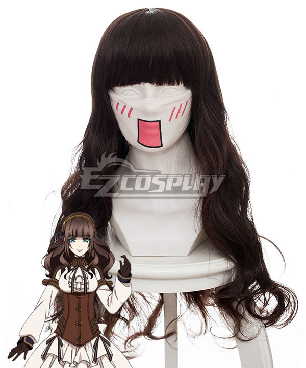 Code: Realize Guardian of Rebirth Cardia Beckford Brown Cosplay Wig 454A